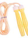 Plastic Handle PVC Skipping Rope Multi-color(Random Color,3M)