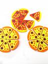 Eraser simulação Pizza (6PCS)