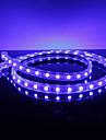 Водонепроницаемый 10W / M 5050 SMD Голубой свет лампы светодиодные ленты (220, длина по выбору пользователя)