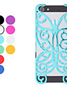 For iPhone 5 Case Embossed Case Back Cover Case Butterfly Hard Aluminium iPhone SE/5s/5