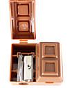 Шоколад Форма точилка для карандашей с резиновой