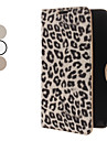 Leopard Print Design PU Leather Case for Samsung Galaxy Note 2 N7100 (Assorted Colors)