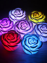 Романтический Роуз Shaped 7 цветов Изменение светодиодные Night Light (3xAG13)