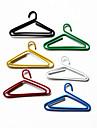 Вешалки Pattern Пластиковые завернутый Paper Clips (10PCS Случайный цвет)