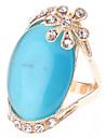 O azul do anel Opal