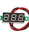 """V18 DIY 0.28"""" 3-Digit LED Digital Voltmeter (Black + Green, 2.5~30V)"""