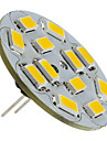 2w g4 светодиодный прожектор 12 smd 5730 135-155 lm теплый белый dc 12 v