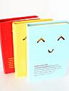 Полые-Out выражение жесткого Notebook Cover (Random Color)
