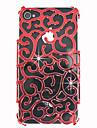중공 아웃 궁전 장식 패턴 위로 아이폰 4/4S에 대한 표지