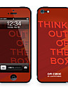 "Da Code ™ Skin for iPhone 4/4S: ""Think Out of The Box"" by Steven Lin (Creative Series)"