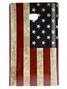 Estilo Retro EUA Caso Padrão Bandeira duro para LG E400/L3
