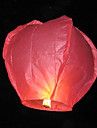 Herz-Form Fliegende Sky Wishing Lantern Kongming Licht (7-Color / Pack)