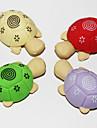 съемные черепаха в форме Ластик (2шт Random Color)