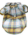 Colorful Plaid Shirt Loisirs modèle pour chiens (XS-L)