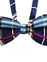 Chat / Chien Cravate/Noeud Papillon Bleu / Noir Vêtements pour Chien Hiver / Eté / Printemps/Automne Tartan Mariage / Mode