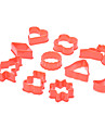 DIY Cookie Cutters Set de cuisson biscuit (10-Pack)