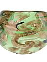 Gold Leaf Motif style abstrait coloré Ring Glaze
