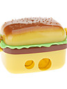 estilo hamburguesa sacapuntas manual (amarilla)