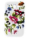 삼성 갤럭시 그랜드 DUOS I9082에 대한 큰 꽃 무늬 하드 케이스