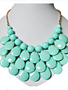 Necklace Choker Necklaces / Vintage Necklaces Jewelry Party Fashion Resin Gold 1pc Gift
