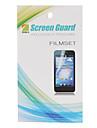 HD Protecteur d'écran avec chiffon de nettoyage pour Samsung Galaxy Y S5360