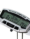 SunDing - Bike Computer,Night Vision 28 Functions Waterproof Cycling Computer SD-558A(Silver)
