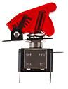 DIY Красный светодиодной подсветкой Включить / выключить переключатель для автомобиля (12V 20A)