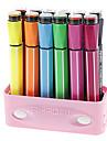12 цветов акварель ручки с печаткой колпаки набора (случайный цвет)