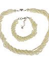 Bijoux-Colliers décoratifs / Bracelet(Perle / Alliage)Mariage Cadeaux de mariage