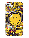 Visage souriant Motif Housse de protection rigide pour iPhone 4/4S