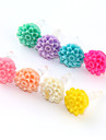 Multilayer Flower Plastic Anti-Dust Earphone Jack (Assorted Color)