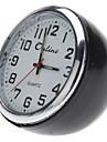 "1 ""MINI Analog кварц настольные часы (черный, 1xbutton батареи)"