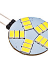 4W G4 LED à Double Broches 15 SMD 5630 350 lm Blanc Naturel AC 12 V