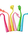 Cute Flexible Hand Ball Pen (Random Color)