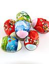 Сжатое полотенце в форме яйца (1 штука, разные цвета)