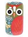 Red Owl Padrão Hard Case para Samsung Galaxy S3 Mini I8190