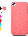 Lichee Padrão Couro Hard Case protetora para iPhone 4/4S (cores sortidas)