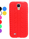 Tire Design Soft Case for Samsung Galaxy S4 I9500 (Assorted Colors)
