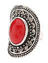 Vintage Silver Ruby Ring