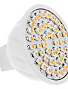 GU5.3(MR16) Точечное LED освещение MR16 48 SMD 3528 230 lm Тёплый белый DC 12 V