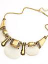 Bijoux Colliers Vintage / Colliers Déclaration Soirée / Quotidien Alliage / Résine Femme Blanc Cadeaux de mariage