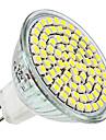 4W E14 / GU10 / GU5.3(MR16) / E26/E27 Точечное LED освещение MR16 80 SMD 3528 300 lm Тёплый белый / Естественный белый DC 12 / AC 220-240