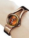 Женский браслет Стиль металла Аналоговые кварцевые часы (бронза)