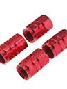 자동차 타이어 밸브 장식 모자 (분류 된 색깔, 4 조각)