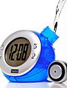 Эко-часы, работающие на воде, с функциями будильника и календаря (цвет случайный)
