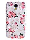 Para Samsung Galaxy Capinhas Case Tampa Estampada Capa Traseira Capinha Flor PC para Samsung S4