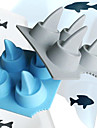 Shark Fin Shaped Ice Tray Mould (Random Color)
