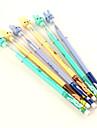 Улыбаясь Кролик Глава синими чернилами Шариковая ручка (случайный цвет)