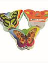 나비 패턴 압축 수건 (1PCS, 무작위 색깔)