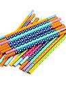 мило красочные деревянные карандаш (5 шт случайный цвет)